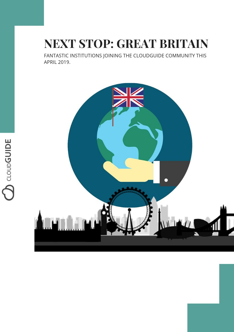 Next stop: Great Britain ! Recent additions to the CloudGuide community!