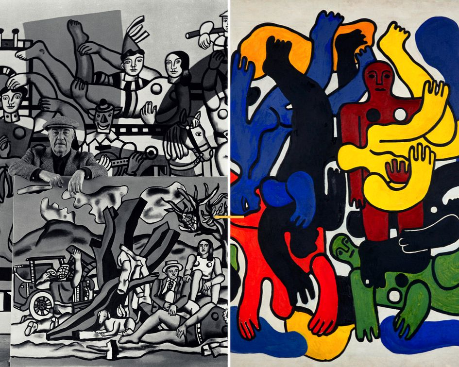 BOZAR presents the world renowned modern artist: Fernand Léger in its new exhibition!