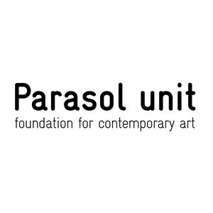 Parasol unit foundation for contemporary art