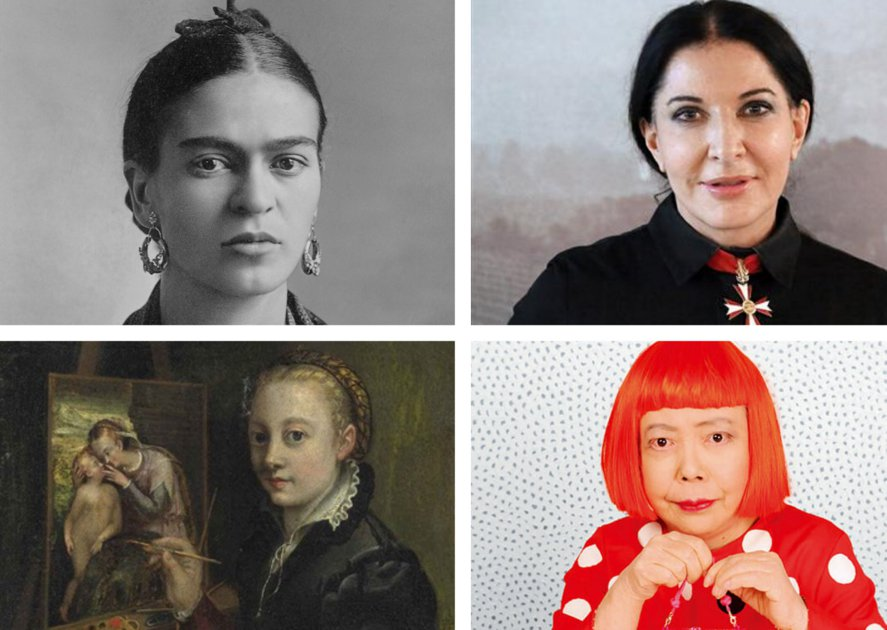 Women who have shaped the art world.