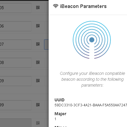 Beacons support in CMSs